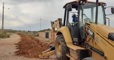 Obras de ampliação da rede de distribuição de água beneficiam moradores de Paranatinga